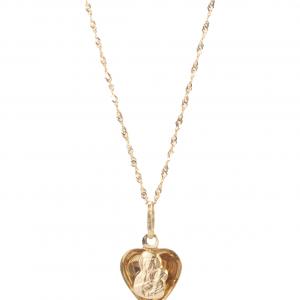 Medalik Matki Boskiej Częstochowskiej Serce