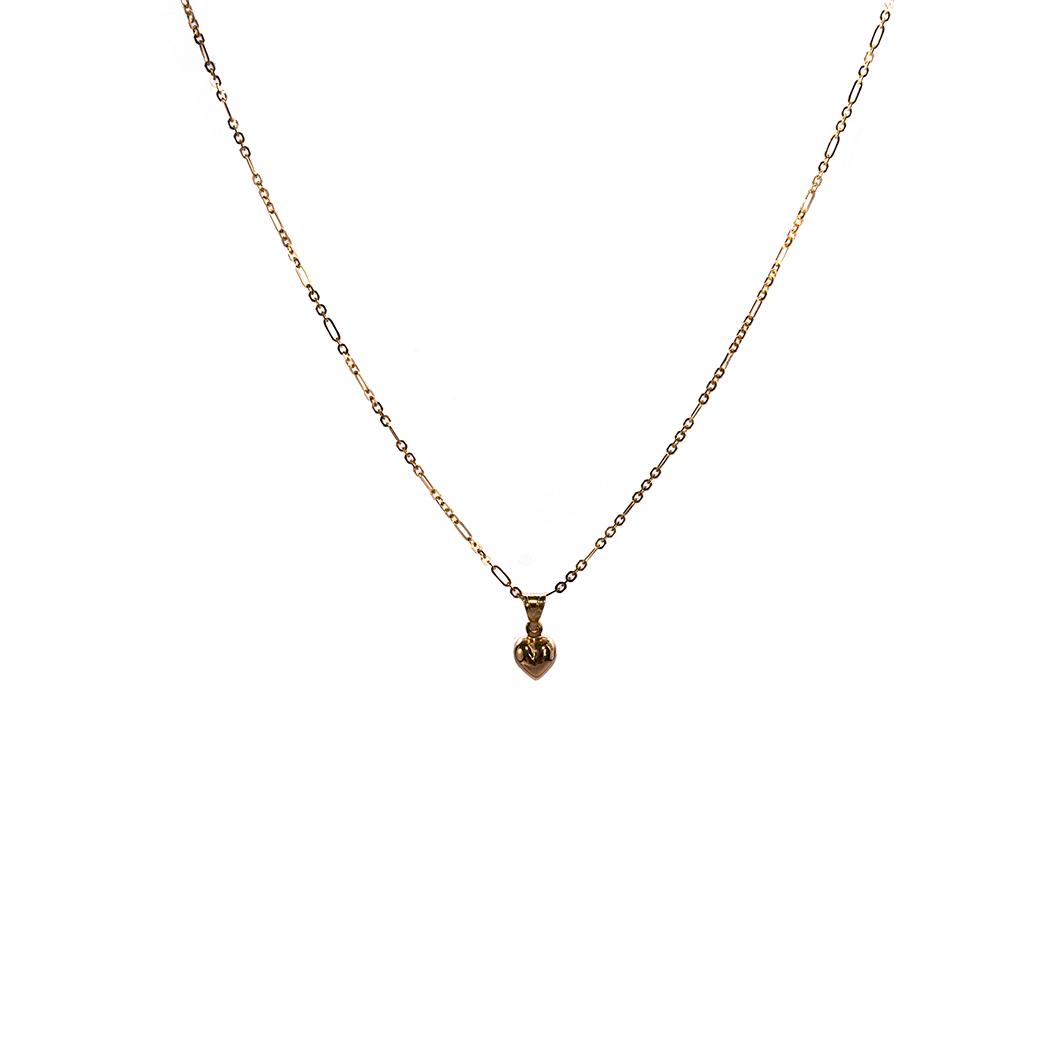 Łańcuszek złoty figaro 45cm