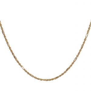 Złoty Łańcuszek damski , korda 45 cm