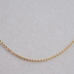Lisi ogon luśny mocny łańcuszek złoty